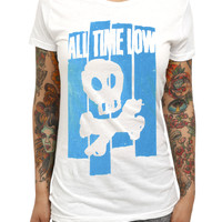 All Time Low Skull Girls T-Shirt | Hot Topic