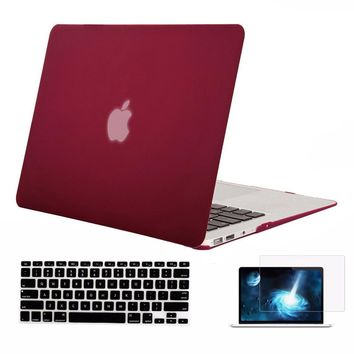 Mosiso for Macbook Pro 13 13.3 Retina 2013 2014 2015 Hard Shell Case A1502 A1425 + Silicone Keyboard Cover Screen Protector