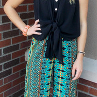 Call Me Cleopatra Palazzo Pants - Haute Pink Boutique