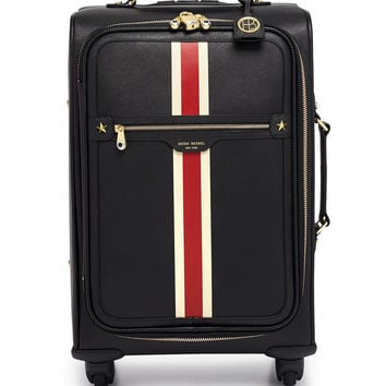 West 57th Striped 360 Wheelie Suitcase | Henri Bendel