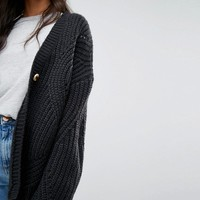 ASOS TALL Cardigan in Chunky Oversized Fit at asos.com