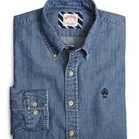 Denim Sport Shirt - Brooks Brothers