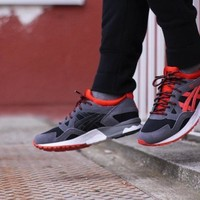 hcxx Asics Gel Lyte V  Black/Orange