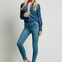 Free People Womens Reign High Rise