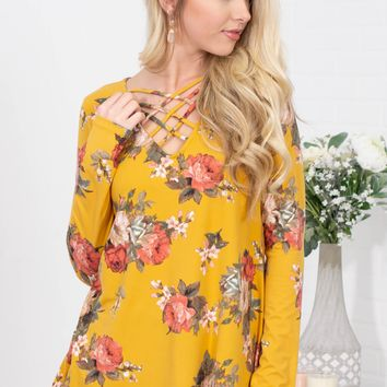 Goldie Rose Yellow Top