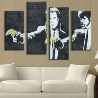 Pulp Fiction Abstract