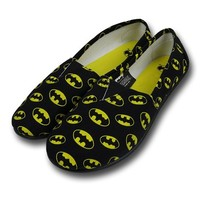 Batman All-Over Print Women's Slip-On Shoes