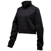 CROPPED NECK ZIP PULLOVER, buy it @ www.puma.com