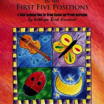 CREYCY2 Easy Songs for Shifting in the First Five Positions: A Violin Technique Book for Group Classes and Private Instruction