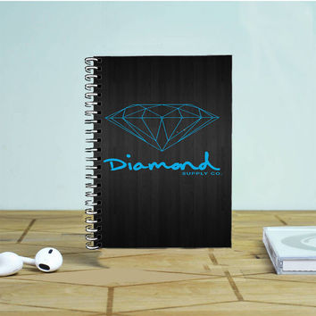 Blue Diamond Supply Co Dark Wood Photo Notebook Auroid