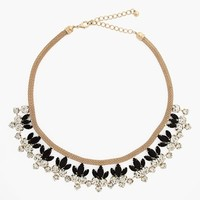 Natasha Couture Floral Statement Necklace
