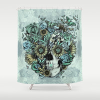 The Only Constant is Change Shower Curtain by Kristy Patterson Design