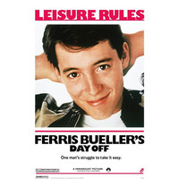 Ferris Bueller's Day Off Poster Comedy Movie Posters RetroPlanet.com