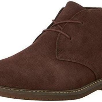 TIMBERLAND MENS BROOK PARK CHUKKA BOOT, DARK BROWN SUEDE, 13 W US