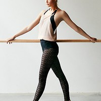 FP Movement Womens Lace Stirrup Tight