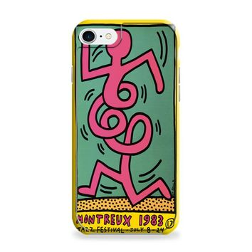 Keith Haring (pink twist) iPhone 6 | iPhone 6S Case