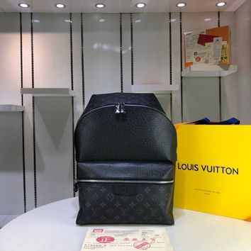 Kuyou Gb29107 Lv Louis Vuitton M30230 Discovery Backpack Pm In Monogram Canvas And Taga 40x30x20cm
