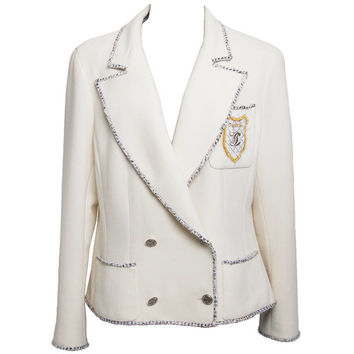 "Chanel White ""Devil wears Prada"" Jacket 2005"