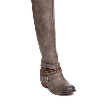 not rated Odilia Buckle Tall Boot