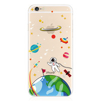 Space Astronauts Case for iPhone Fun