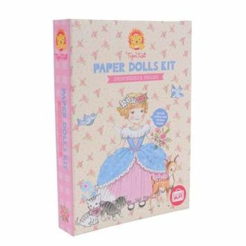 Paper Doll Kit Princess & Bells