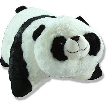 "Genuine My Pillow Pet Comfy Panda - Large 18"" (Black and White)"