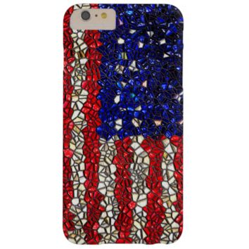 American flag Mosaic iPhone 6 Plus Barely Case iPhone 6 Plus Case