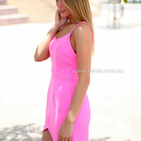 A BEAUTIFUL MIND DRESS , DRESSES, TOPS, BOTTOMS, JACKETS & JUMPERS, ACCESSORIES, 50% OFF SALE, PRE ORDER, NEW ARRIVALS, PLAYSUIT, COLOUR, GIFT VOUCHER,,Pink,SLEEVELESS Australia, Queensland, Brisbane