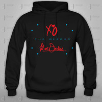 Xo the Weeknd kissland live for drake till we overdose OVO Hoodie hood Sweatshirt