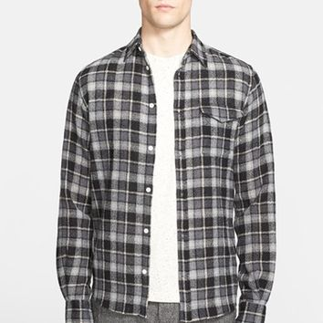 Men's Norse Projects 'Anton' Trim Fit Plaid Wool Shirt,