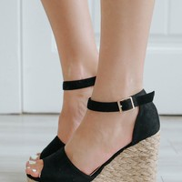 Penelope Wedges - Black