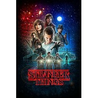 Stranger Things poster Metal Sign Wall Art 8inx12in