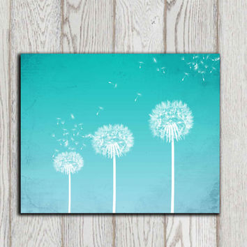 Turquoise wall art - Polyvore
