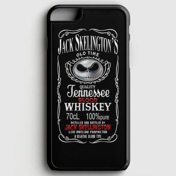 Jack Skellington Whiskey Daniels iPhone 8 Case | casescraft