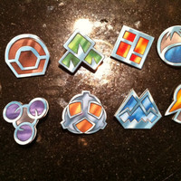 Sinnoh League / Gen IV Pokemon Badge Set