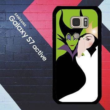 Disney Evil Queen Y0750 Samsung Galaxy S7 Active Case