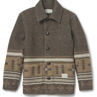 Neighborhood - Patterned Quilted Wool-Blend Jacket | MR PORTER