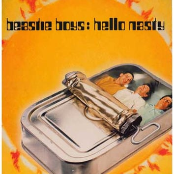 Beastie Boys Hello Nasty Album Cover Poster 11x17