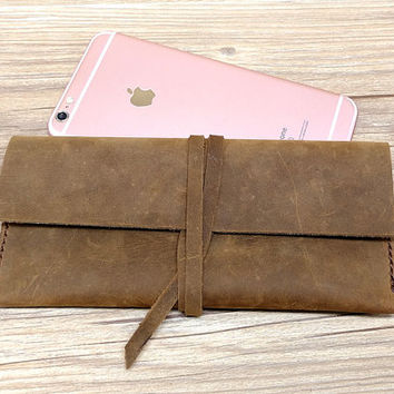 Women Leather Wallet, Leather Wallet, Wallets, iPhone Case Vintage, Custom Women's Gift, Q479