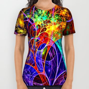 Celebrate All Over Print Shirt by WhatisArt