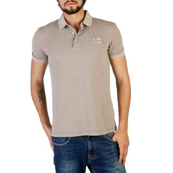 Napapijri Men Brown Polo