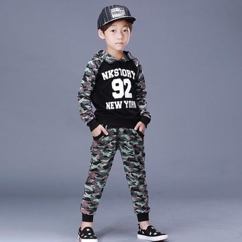 Girls clothing sets autumn wear kids track suits boys