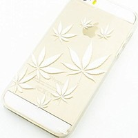 Plastic Case Cover for iPhone 5 5S 5C 6 6Plus (Pick One) Plant Life weed og kush 420 marijuana sour diesel
