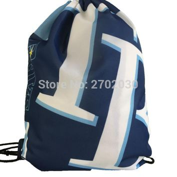 Tampa Bay Devil Rays Drawstring Bags Men Sports Backpack Digital Printing Pouch Customize Bags 35*45cm Sports US Baseball Team