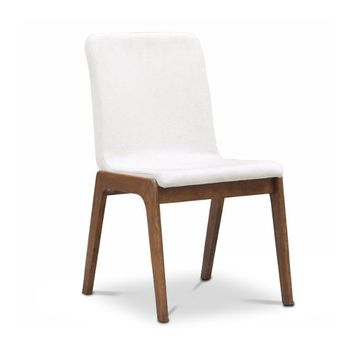 Aiken Dining Chair in CREAM - SET OF 4 - CLEARANCE