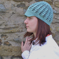 Crochet cotton cap.Woman crochet newsboy hat.Spring hat.Summer cap