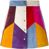 Marc Jacobs Rainbow Panel Mini Skirt - Farfetch