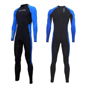 SLINX Hot Men Swimming Surfing Wet Suits Full Body UV Protection Swimsuits One-Piece Snorkeling Spearfishing Scuba Diving Suits