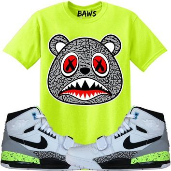 ELEPHANT BAWS Sneaker Tees Shirt - Jordan Don C 312 Command Force Volt