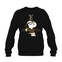Snoopy Louis Vuitton Joe Cool Crewneck Sweatshirt